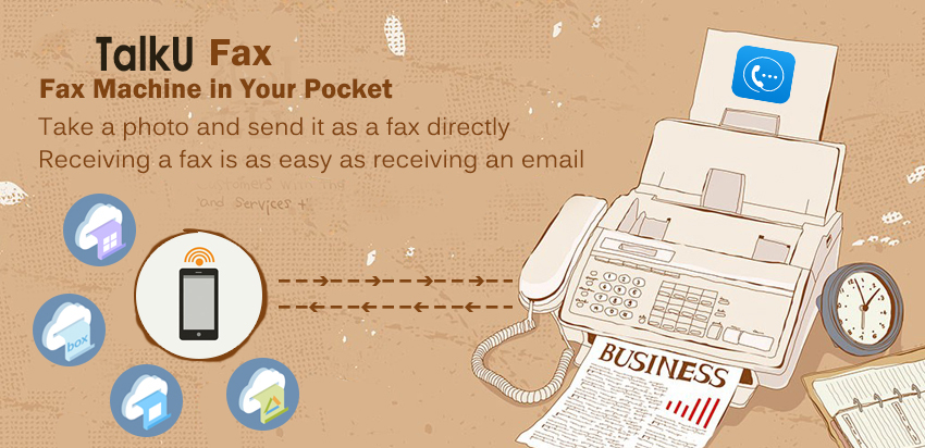 TalkU-Mobile-Fax-App