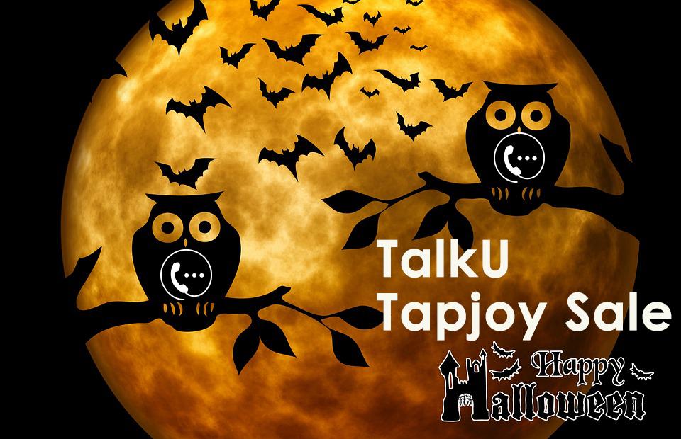 talku credits sale Halloween